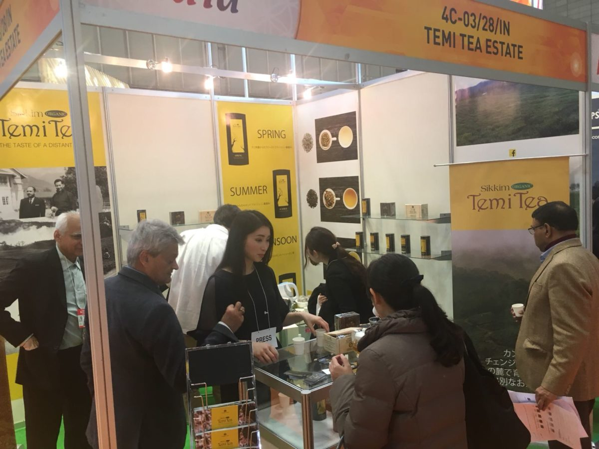 Temi at the Foodex – Japan 2018